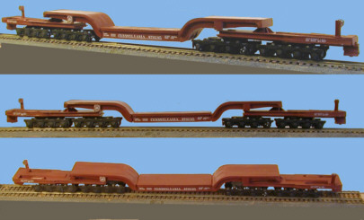 HO Scale PRR Class FD2 Flat Car Released