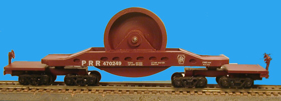HO Scale PRR FW2 Flat Car Announced