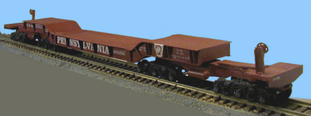 HO Scale PRR Class F42 Flat Car Released